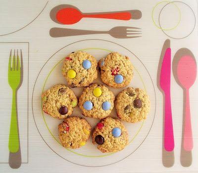 Ручной уголок: Овсяное печенье с M&M's / Oatmeal M&M's cookies