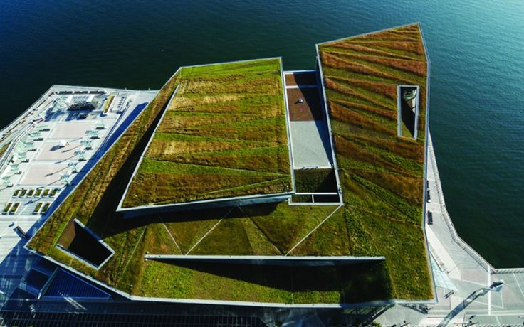 The World's Best Living Rooftops | Vancouver Convention centre by PWL Partnership