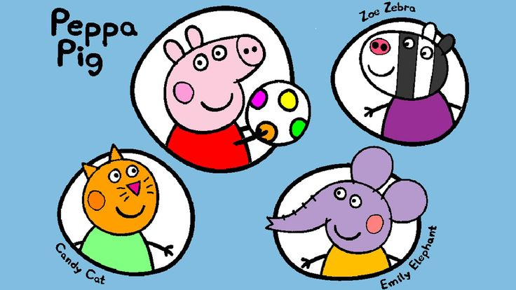 The 59 best Peppa Pig Coloring Pages for Kids images on Pinterest ...