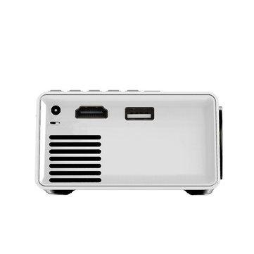 YG-300 LCD Mini Portable LED Projector Support 1080P 400 - 600 Lumens 320 x 240 Pixels Home Cinema Sale - Banggood.com