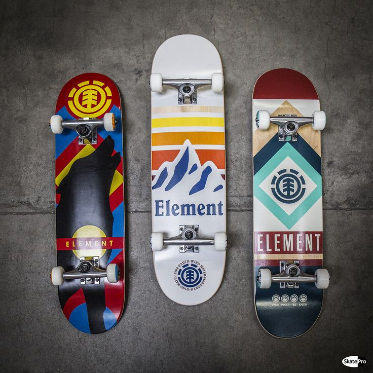 Element complete skateboards!