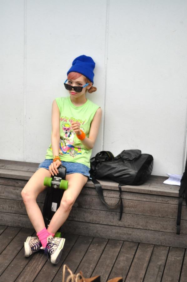 ICCHO STYLE BLOG -TOKYO STREET FASHION MAGAZINE -: 瀬戸あゆみ -A child like-