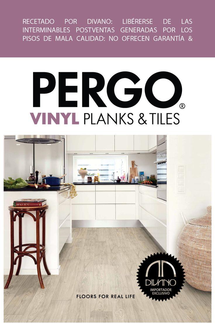 PERGO Vinyl Planks & Tiles: Nueva gama de tablones y baldosas de vinilo muy fáciles de instalar.