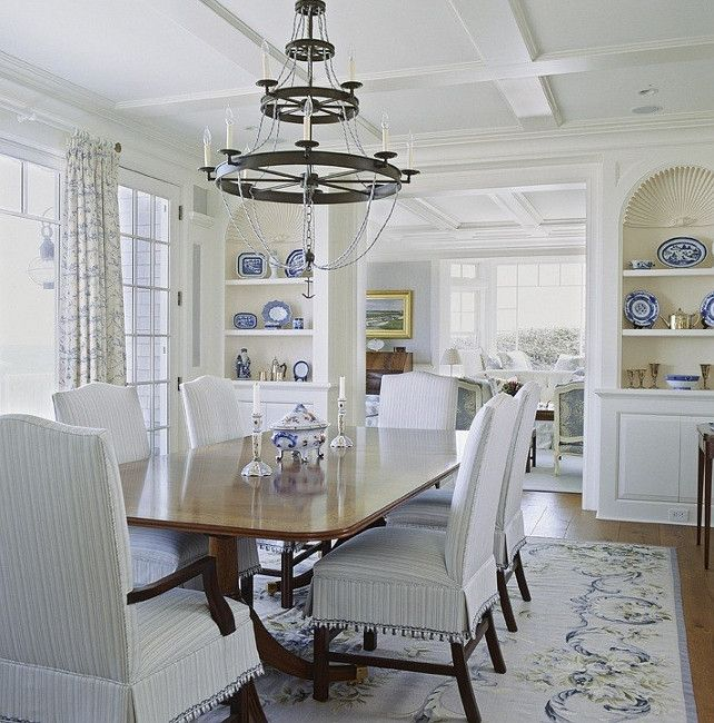 19 best hamptons style images on pinterest hampton style for White formal dining room