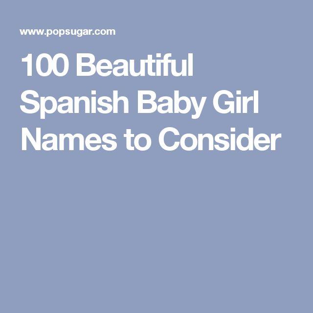 100 Beautiful Spanish Baby Girl Names to Consider