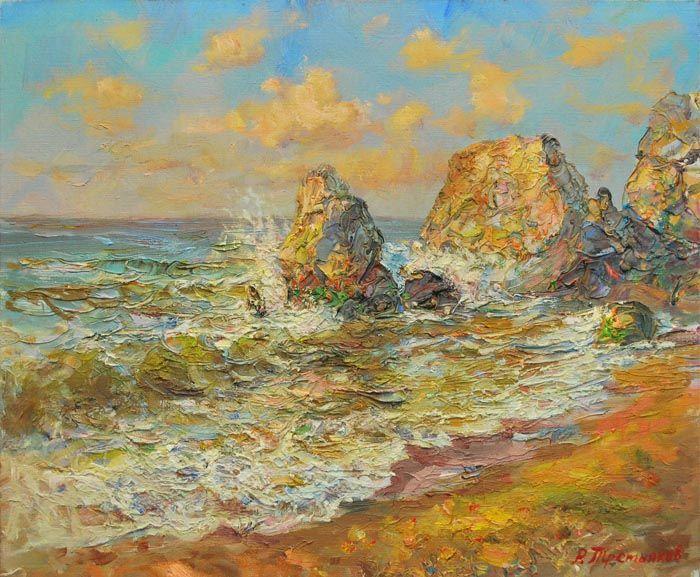 laszo neogrady paintings | water wt068