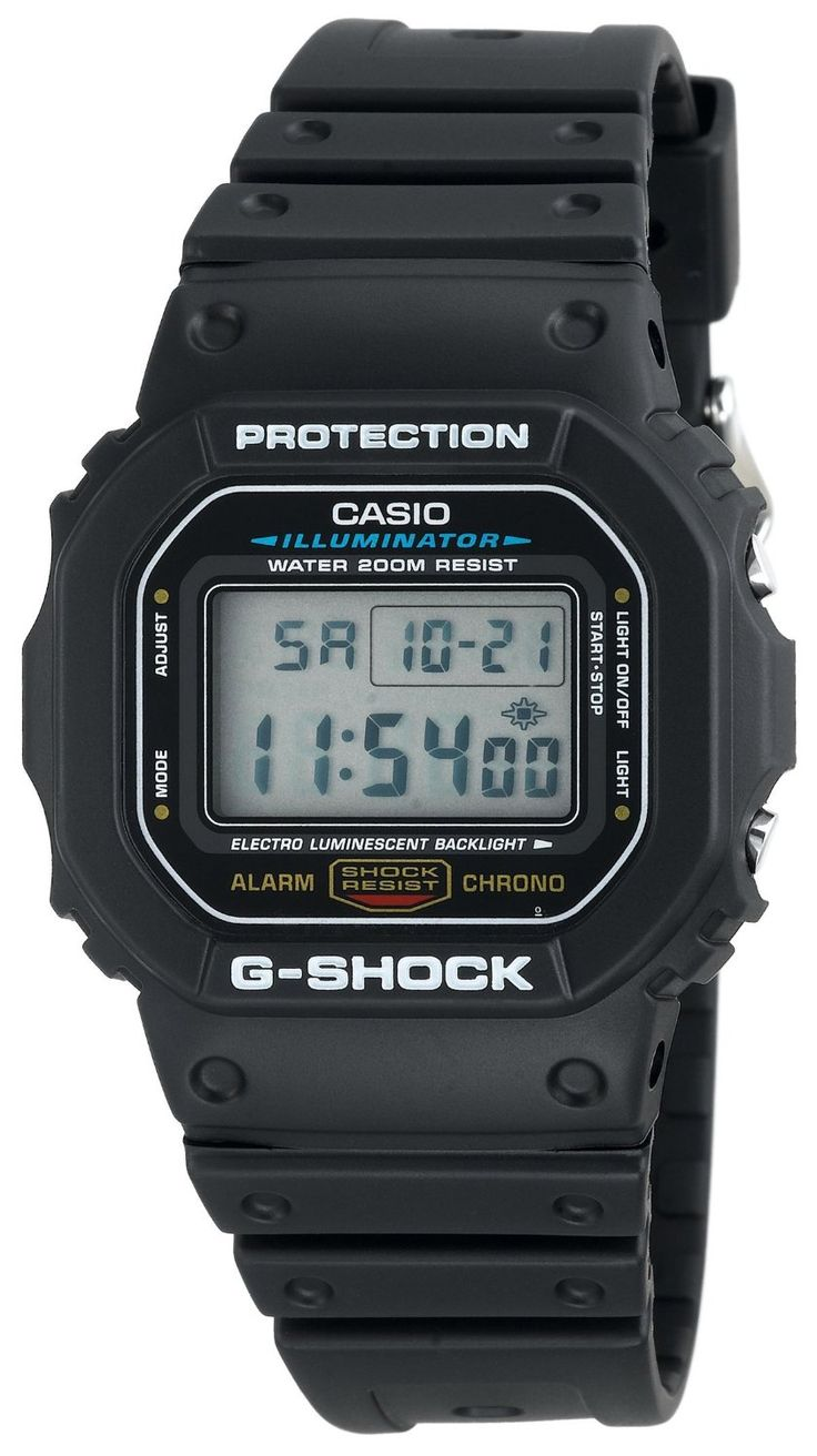 Casio Men's DW5600E-1V G-Shock Classic Digital Watch