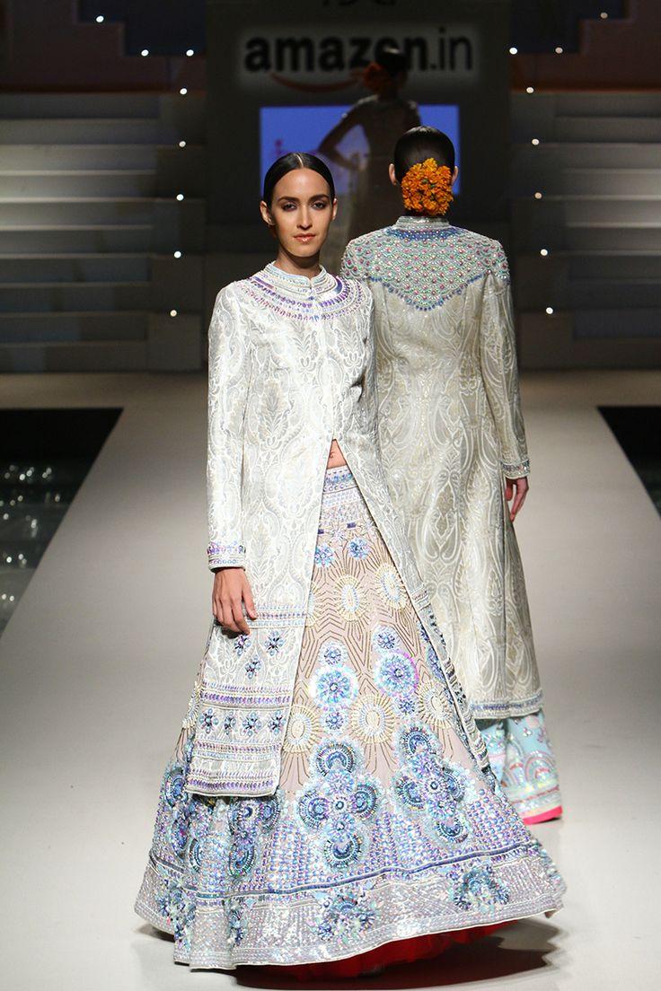 Amazon India Fashion Week Spring/Summer 2016   Manish Arora #Indiancouture #PM
