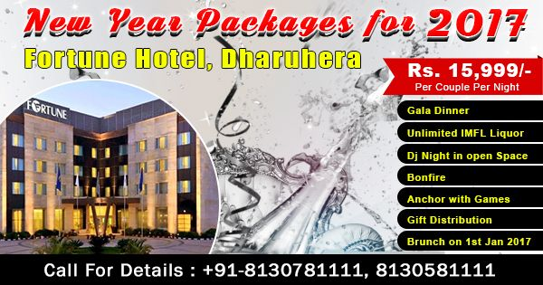 Fortune Hotel Dharuhera New year packages Near #delhi NCR Unlimited DJ Drink IMFL Liquor  Call-08130781111/ 8826291111