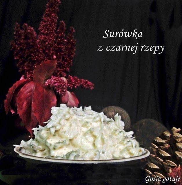Gosia gotuje: Surówka z czarnej rzepy do obiadu