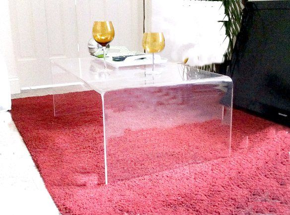 Excellent Condition 1960's Lucite/Plexiglass Table in Hell's Kitchen, New York, NY, USA ~ Krrb