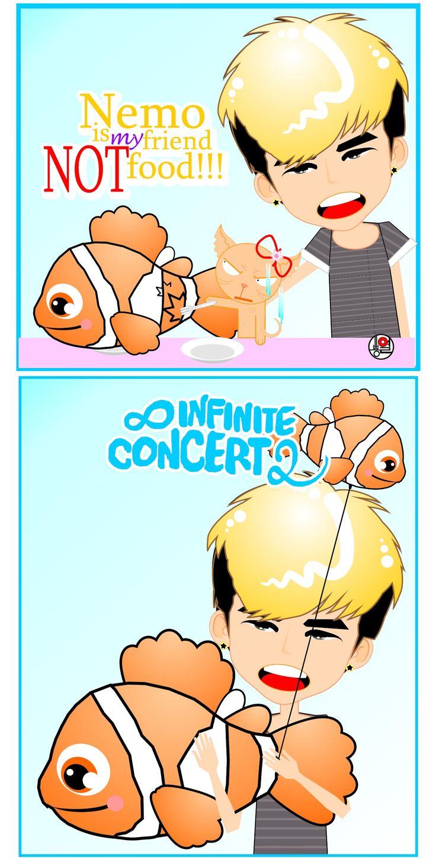 Hoya #INFINITE the Summer 2 Concert | fanART