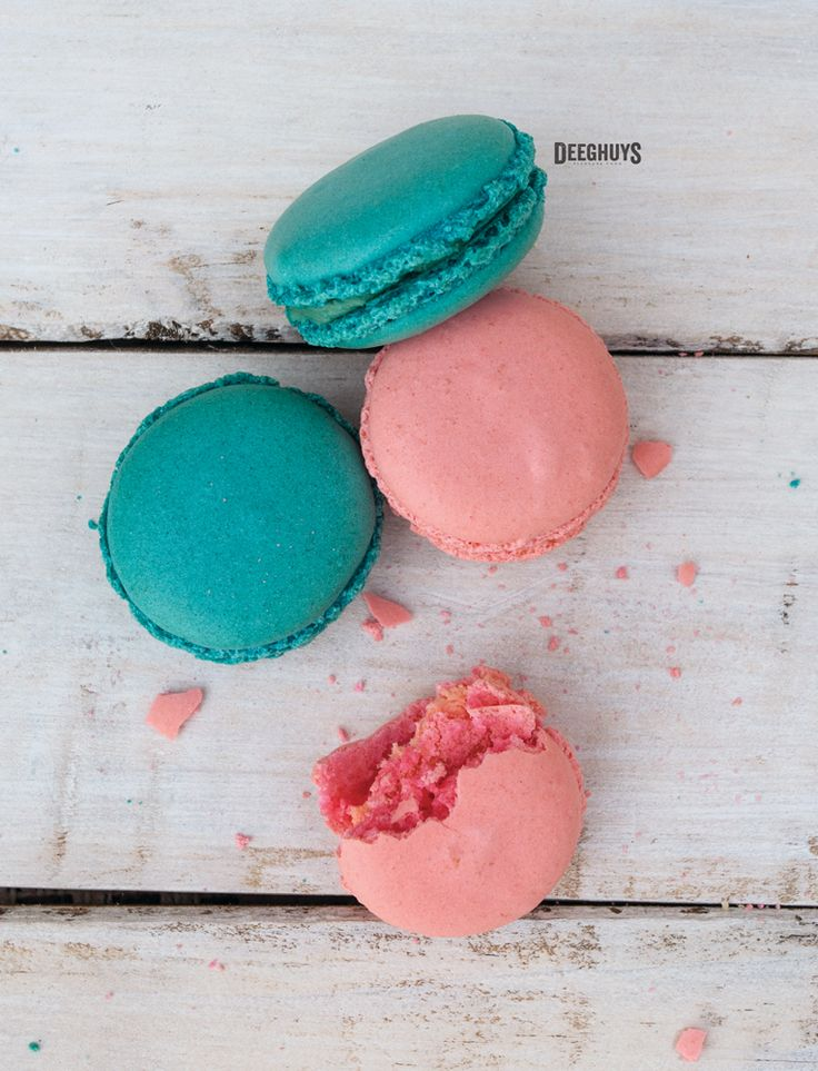 Large Deeghuys Rose & Berry Flavoured Macarons. Spoil yourself!