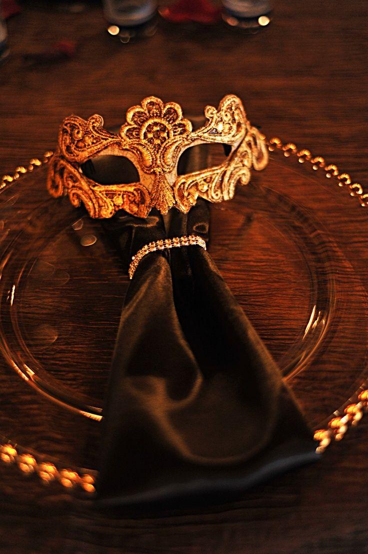 Stunning Masquerade Wedding Theme - http://goo.gl/uujyWX?utm_content=snap_default&utm_medium=social&utm_source=Pinterest.com&utm_campaign=snap