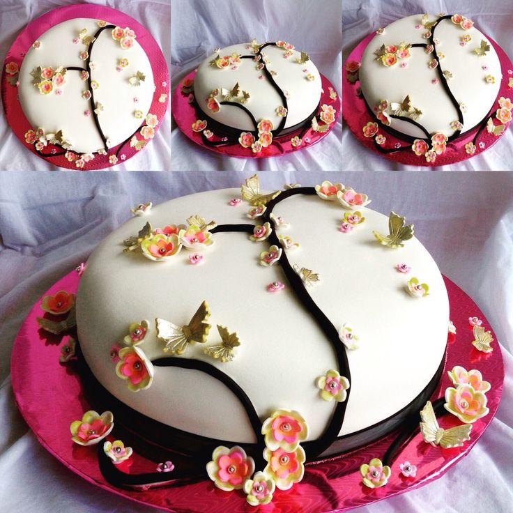Torta Cumpleaños. Tata-Sabores Tortas & Postres