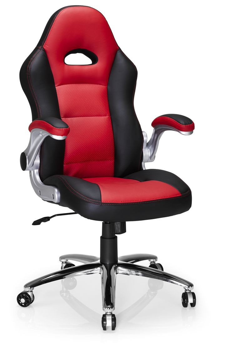 Hummingbird Le Mans Racer Chair black and red