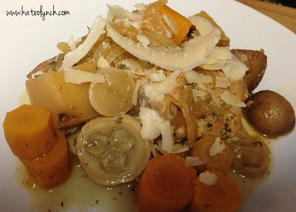 Italian Chicken and Vegetable Crockpot | Recipes | Kate O Lynch