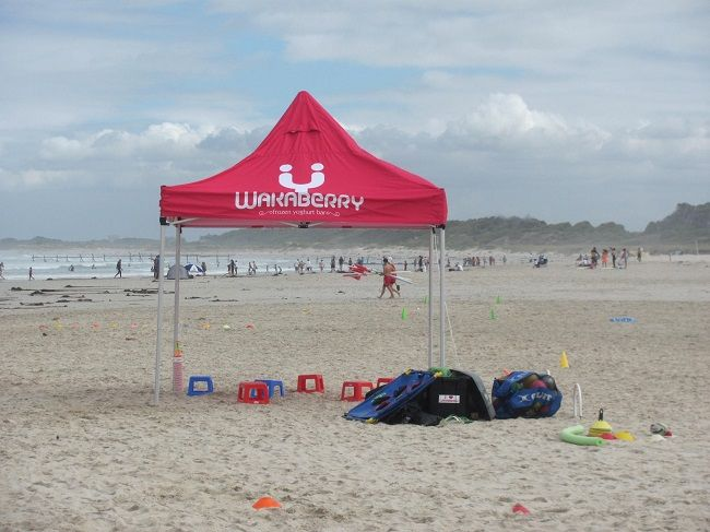 Coach Kyle Children's Events celebrated a birthday on the beach this weekend!