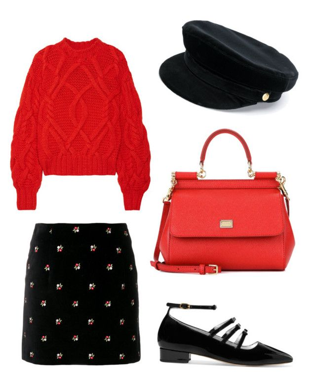 """Untitled #206"" by zsofi-szibilla on Polyvore featuring Ulla Johnson, AlexaChung, Manokhi and Dolce&Gabbana"