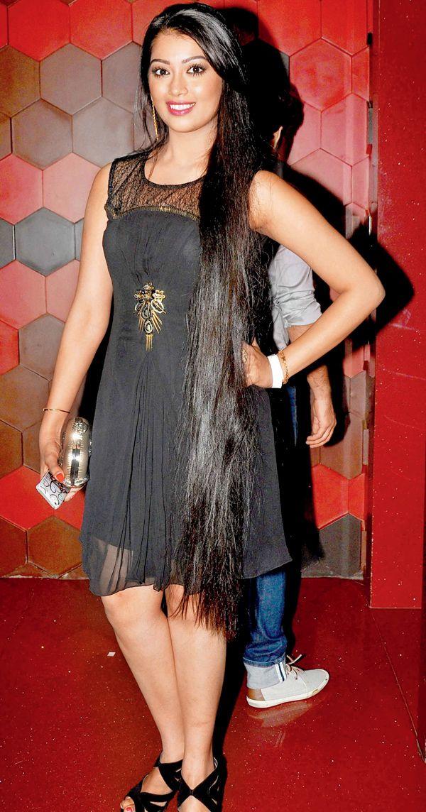 Digangana Suryavanshi at a Box Cricket League celebs party. #Bollywood #Fashion #Style #Beauty