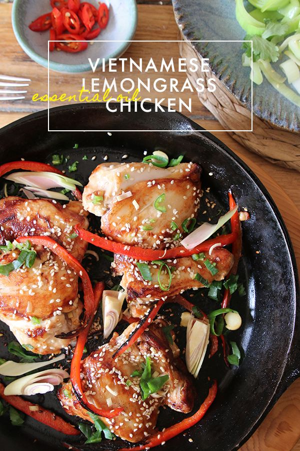 Vietnamese Lemongrass Chicken with doTERRA essential oil. Paleo. Healthy. Delicious.