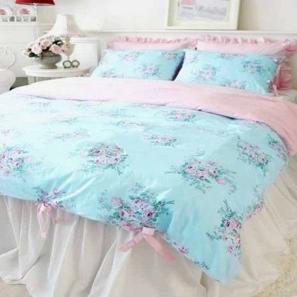 Shabby Chic Duvet Cover 3pcs Set In 2019 Bedrooms