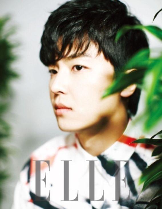 Yun Woo Jin - Elle Magazine April Issue '13