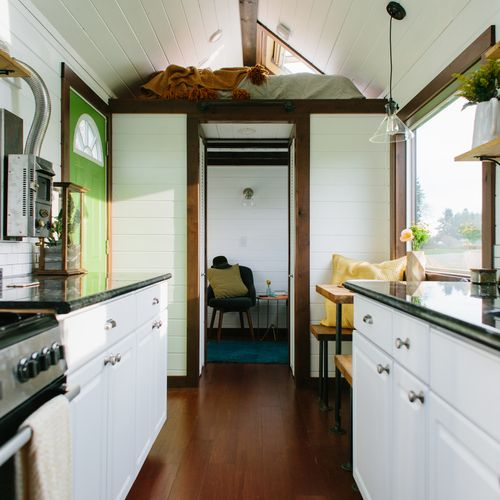 A Luxury Tiny House On Wheels In Portland, Oregon. Built By Tiny Heirloom.u201d  U2013 Tiny House Swoon See More Of Tiny Heirloom 2 At Tiny House Swoon.