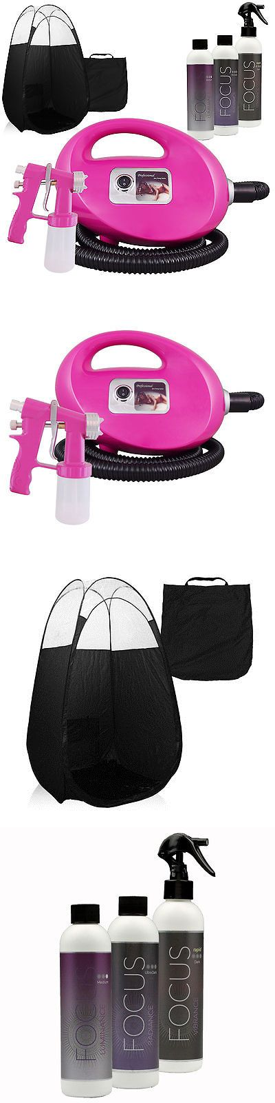 Airbrush Tanning Kits: Pink Fascination Fx Spray Tanning Kit With Tan Solution And Black Tent -> BUY IT NOW ONLY: $219 on eBay!