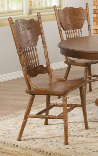 Best Oak Dining Side Chairs ~ Best amish pressback chairs images on pinterest
