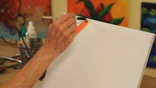 How to Paint with Acrylics Want to learn how to paint but don't know where to begin? Start with artist Linda Rhea's lessons in these videos. Linda teaches you everything from how to mix paint colors and prepare your canvas to glazing and brush stroke techniques. She'll have you painting landscapes, beach scenes, sunsets, and flowers in no time at all.