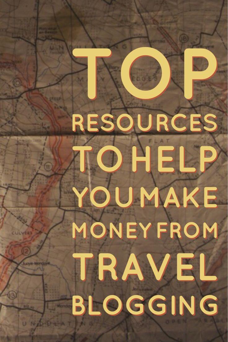 Make Money from Travel Blogging! #travel #blogging #travelblog #bloggingtips #marketing