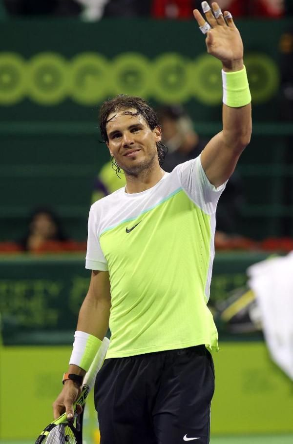 "- Rafael Nadal served his way to his first final of 2016 -- and the 99th of his career -- at the Qatar Open on Friday, beating Ukraine's Illya Marchenko in straight sets. The Spaniard, who endured a miserable 2015, showed he could be returning to his best with his most impressive performance of the week, winning 6-3, 6-4 in little over an hour. ""I finished last year playing better and started again."" Nadal's serve dominated throughout against a player who troubled the best all week and…"