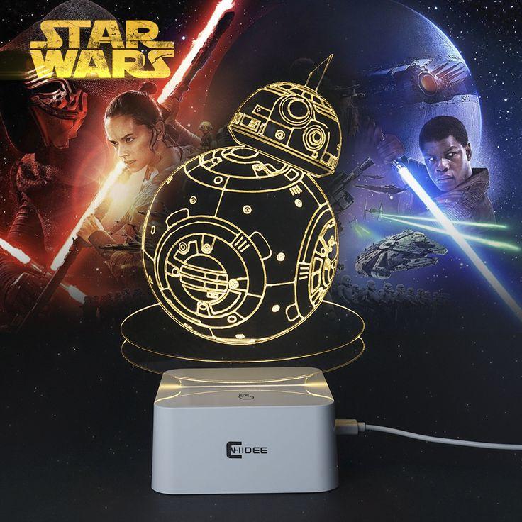 Star Wars optical illusion 3D Lamp //Price: $29.99 & FREE Shipping //     #hashtag1