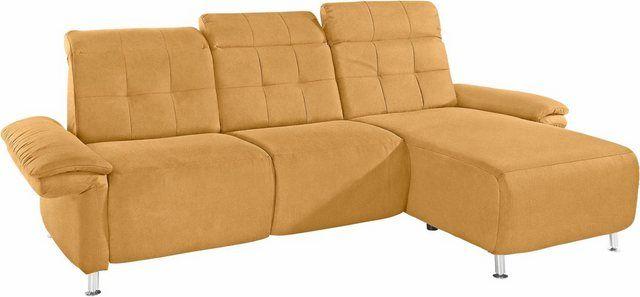 Ecksofa Manhattan 2 Sitze Mit Elektrischer Relaxfunktion Verstellbare Armlehnen Couch Furniture Home Decor