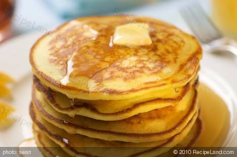 Betty Crocker pancakes.  The only recipe I use...it's fabulous!  Fluffy pancakes every time!  Only thing I change is adding 1 tsp vanilla.
