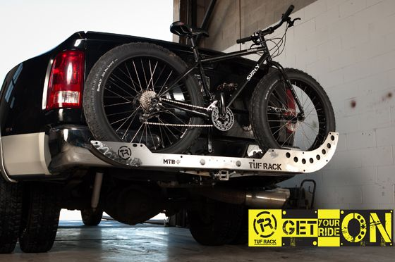 Tuf Rack - Indestructible Hitch Mounted Mountain Bike & BMX Racks For The Backs Of Vehicles
