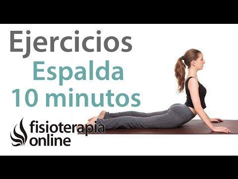 Rutina de ejercicios para el dolor de espalda - YouTube
