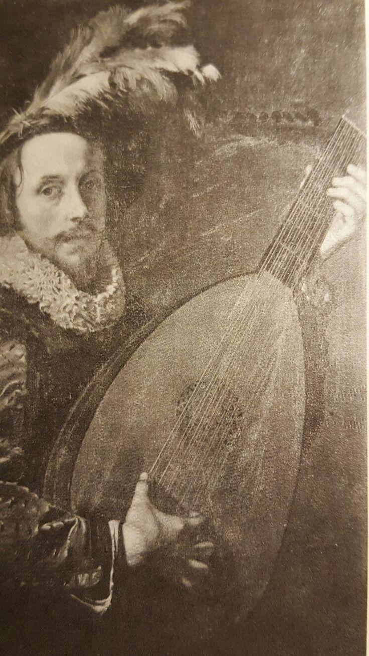 ADAM DE COSTER ( attribuited). LUTE PLAYER. 1620 c.- oil on canvas. 105 × 77,5 cm. Dresden. Gemaldegalerie. Inv. no. 1841.