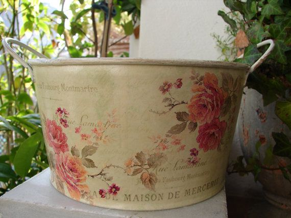 This is soooo me!!!  French shabby chic rosesmetalvintage by shabbyfrenchstyle on Etsy, $18.00: Hobbies Lobbies, Cottage Shabby Chic, Chic Rosesmetalvintag, Country Cottage Shabby, French Shabby, Ideas Dreams, French Country, You, Furniture