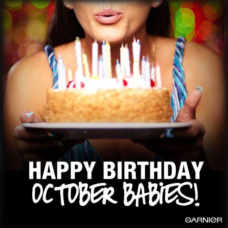 Happy Birthday, October babies! Happy Bday to me,my neighbor Linda,my dad and my great niece Christina.