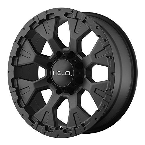"Helo HE878 Satin Black Wheel (18x9""/6x139.7mm, -12mm offs..."