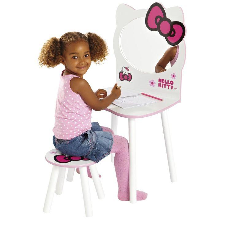 Hello kitty tocador infantil de bella madera 462hll tienda de juguetes online for Juegos de hello kitty jardin