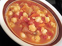 Quick and Easy Vegetarian Posole Soup with Hominy-I love this!!! I make it a few times a month and sub pablano for red peppers.