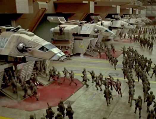 Starship Troopers Film Cell Lot Mobile Infantry vs Bugs Sci-Fi Future War - Bugs, cell, Film, Future, Infantry, Lot~, MOBILE, sci, Starship, Troopers, War