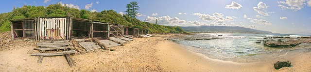 Boat Sheds Sandon Point - Illawarra NSW Australia