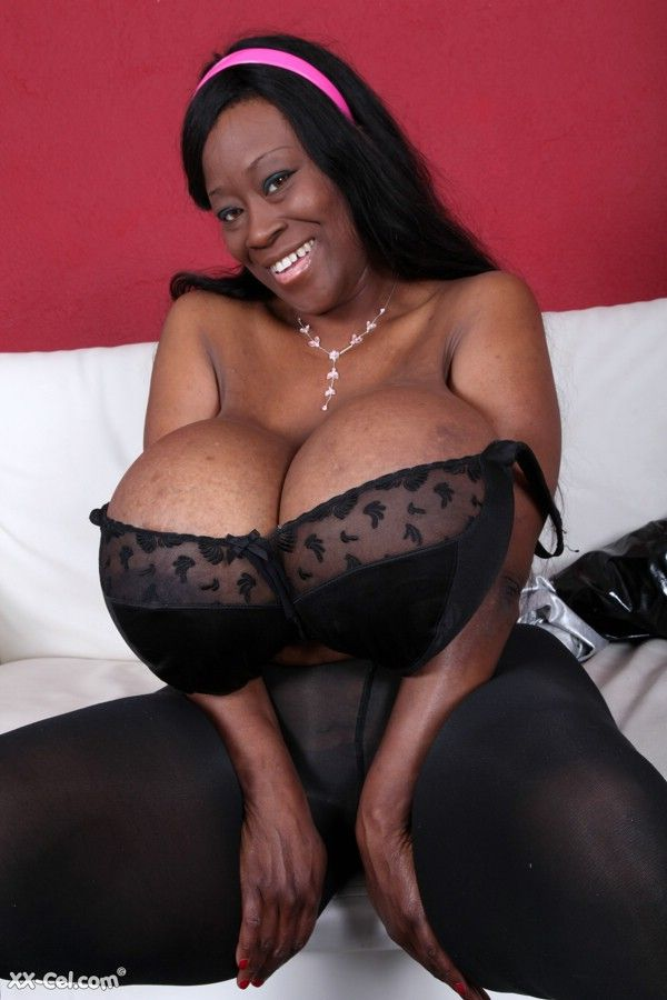 Big Giant Black Boobs