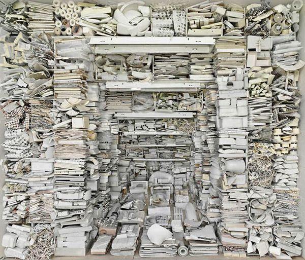 Marjan Teeuwen.: Marjanteeuwen, Abandoned Building, Famous Artists, Small Rooms, Art Installations, Marjan Teeuwen, Texture Wall, Installations Art, Design Blog