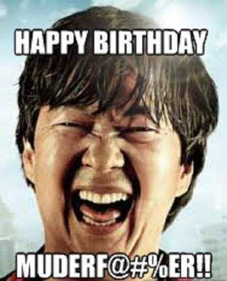 Happy Birthday From Chow - Funny Happy Birthday Meme