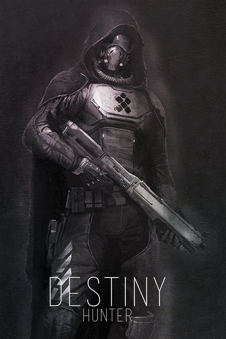 Hunter - Destiny by LandLCreations on DeviantArt